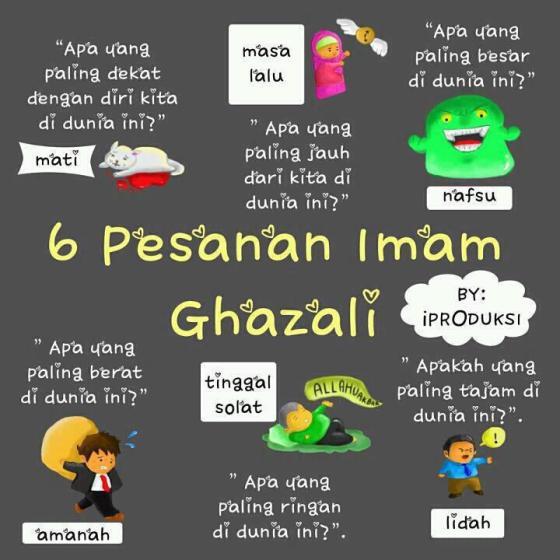 Pesan Imam Ghazali